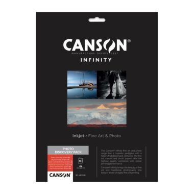 Canson Infinity A4 Fine Art Photo Discovery Pack 14 sheets